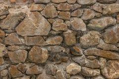 Fundo da foto da textura da parede de pedra Fotos de Stock Royalty Free