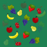 Fundo da fruta Foto de Stock Royalty Free