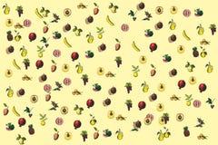 Fundo da fruta Imagens de Stock Royalty Free
