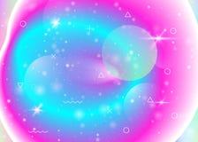 Fundo da gal?xia com formas do cosmos e do universo e poeira de estrela ilustração royalty free