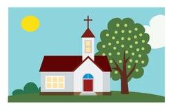 Fundo da igreja Imagens de Stock