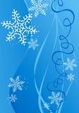 Fundo da ilustração do Natal/ano novo Fotografia de Stock Royalty Free