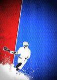 Fundo da lacrosse Fotografia de Stock Royalty Free