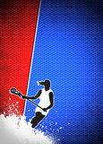 Fundo da lacrosse Imagem de Stock Royalty Free