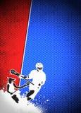 Fundo da lacrosse Imagens de Stock