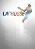 Fundo da lacrosse Foto de Stock