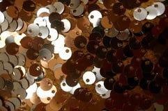 Fundo da lantejoula do ouro Imagens de Stock Royalty Free