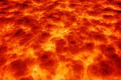 Fundo da lava do magma Imagens de Stock