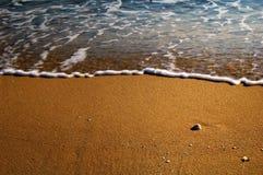 Fundo da linha costeira Fotografia de Stock