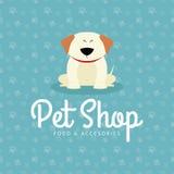 Fundo da loja de animais de estimação Imagem de Stock Royalty Free