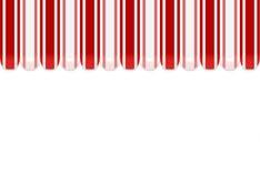 Fundo da loja do toldo no vermelho ilustração stock