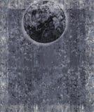 Fundo da lua da fantasia do KRW ilustração do vetor