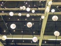 Fundo da luz do ornamento de Chirstmas Fotografia de Stock