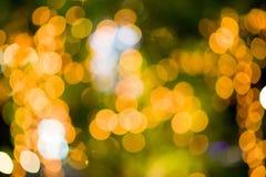 Fundo da luz e do Bokeh Imagem de Stock