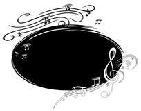 Fundo da música ilustração do vetor