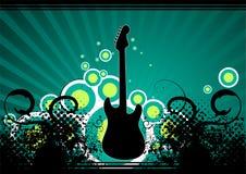 Fundo da música ilustração stock