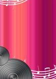 Fundo da música com espaço para o texto ilustração royalty free