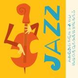Fundo da música de concerto do JAZZ Fotos de Stock Royalty Free