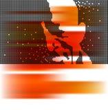 Fundo da música e do jazz Fotos de Stock