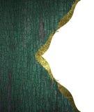 Fundo da madeira com beira do ouro Elemento para o projeto Molde para o projeto copie o espaço para o folheto do anúncio ou o inv Fotos de Stock Royalty Free