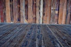 Fundo da madeira da arte Fotografia de Stock Royalty Free