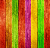 Fundo da madeira da cor fotos de stock royalty free