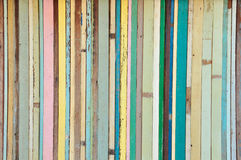 Fundo da madeira da cor do vintage Fotos de Stock Royalty Free