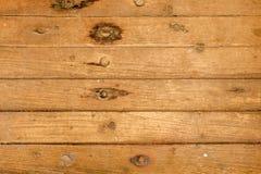 Fundo da madeira de Brown Imagens de Stock Royalty Free