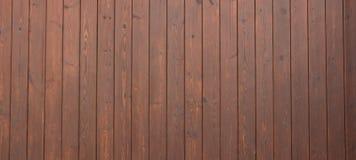 Fundo da madeira de Brown Fotografia de Stock