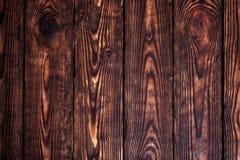 Fundo da madeira de Brown Fotografia de Stock Royalty Free