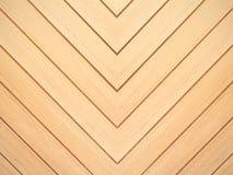 Fundo da madeira de Brown Textura natural do teste padrão do assoalho do carvalho de Chevron imagens de stock royalty free