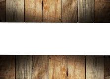 Fundo da madeira do vintage Imagens de Stock Royalty Free