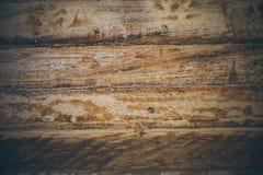 Fundo da madeira do vintage Textura e fundo de madeira ásperos para desenhistas Feche acima da ideia da textura de madeira abstra Fotos de Stock Royalty Free