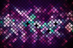 Fundo da magenta do mosaico   ilustração stock