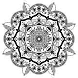 Fundo da mandala de Zentangle do vetor Foto de Stock Royalty Free