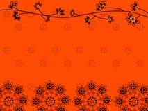Fundo da mandala do Henna Imagens de Stock Royalty Free