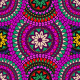 Fundo da mandala Elementos decorativos do vintage Foto de Stock Royalty Free