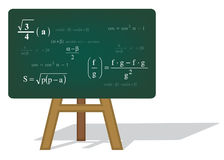 Fundo da matemática Imagem de Stock Royalty Free