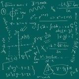 Fundo da matemática ilustração royalty free
