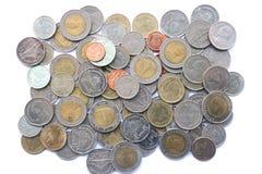 Fundo da moeda Imagens de Stock Royalty Free