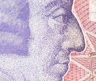 Fundo da moeda da libra - 20 libras Imagem de Stock Royalty Free