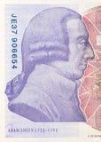 Fundo da moeda da libra - 20 libras Fotografia de Stock Royalty Free