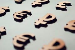 Fundo da moeda, dinheiro do mundo, textura foto de stock