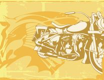 Fundo da motocicleta Imagem de Stock Royalty Free