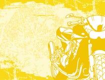 Fundo da motocicleta Imagem de Stock