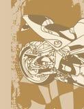 Fundo da motocicleta Foto de Stock