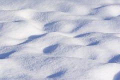 Fundo da neve foto de stock