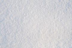 Fundo da neve branca. Foco cheio do frame Imagens de Stock Royalty Free