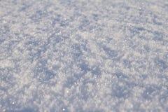 Fundo da neve do tempo Fotografia de Stock