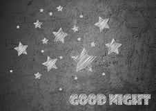 Fundo da noite da estrela Imagens de Stock